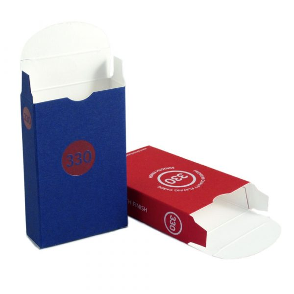 Empty 330 Playing Card Tuck Box