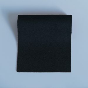 100% Merino Wool Baize Black