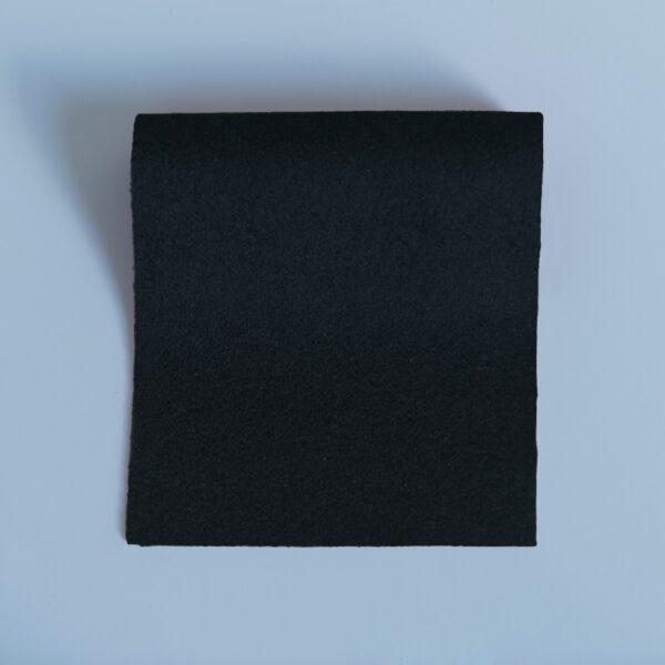 100% Merino Wool Baize Black