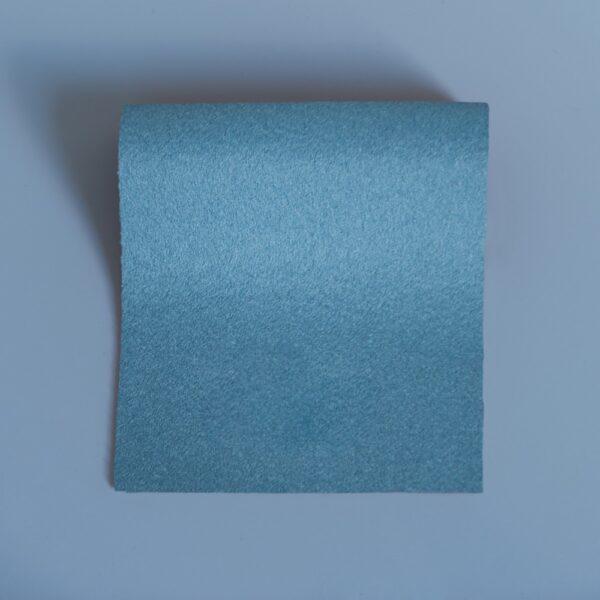 100% Merino Wool Baize Minerva Blue