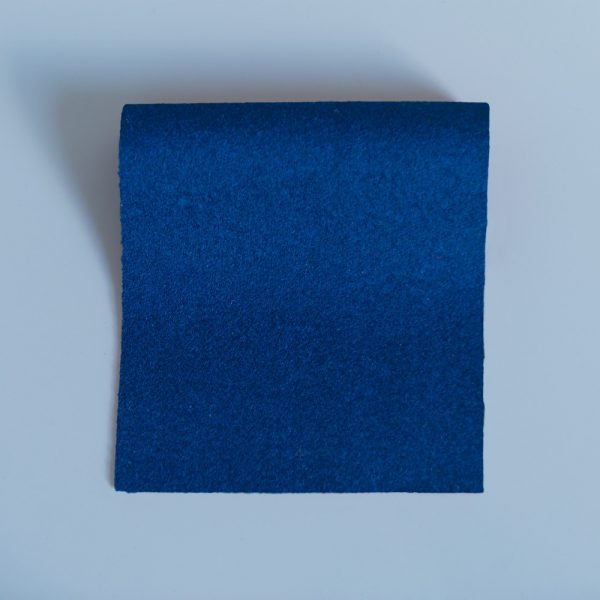 100% Merino Wool Baize Peacock Blue