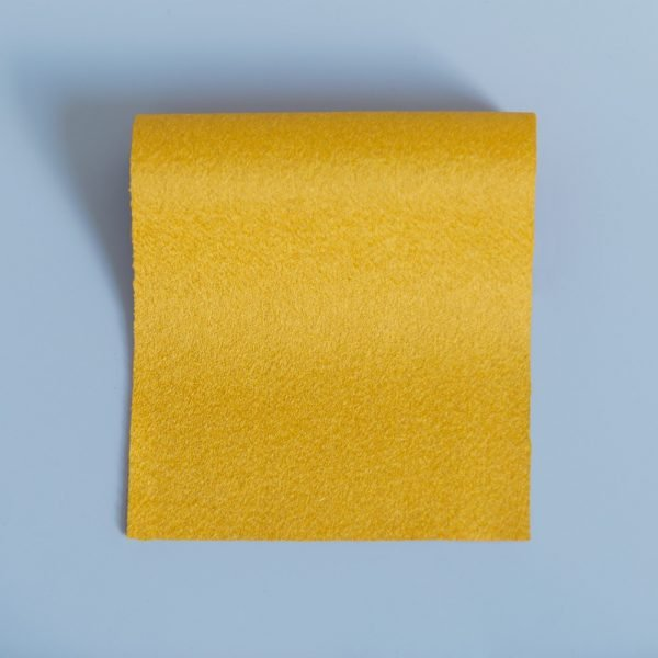 100% Merino Wool Baize Pollen Yellow