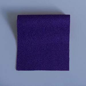 100% Merino Wool Baize Purple