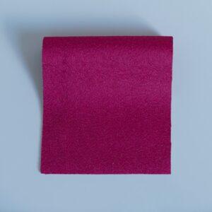 100% Merino Wool Baize Raspberry