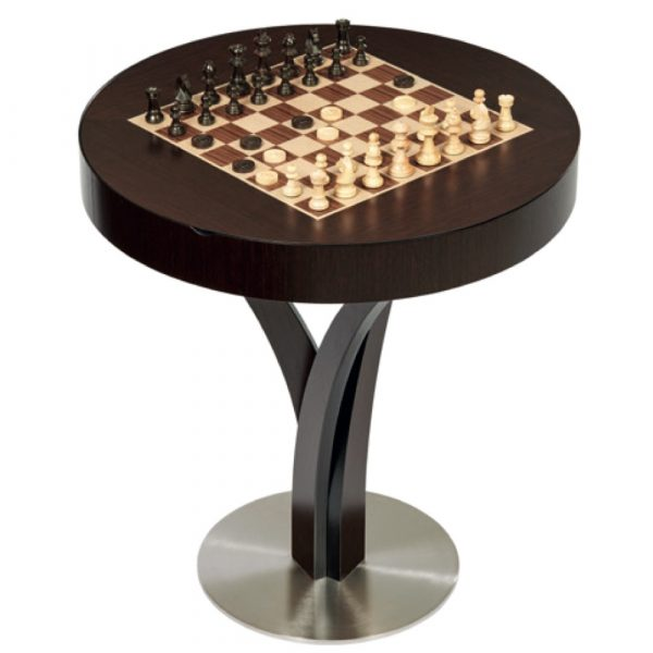 dal negro gorgone luxury gaming table with chess