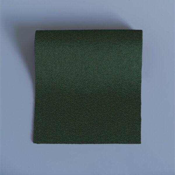 100% Merino Wool Baize Moss Green