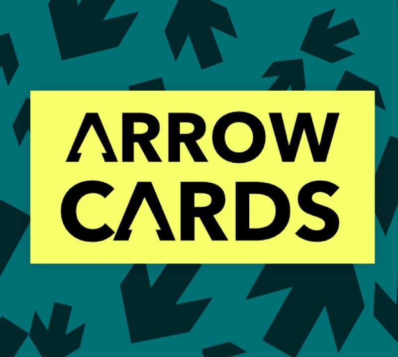 packs of bridge arrow cards