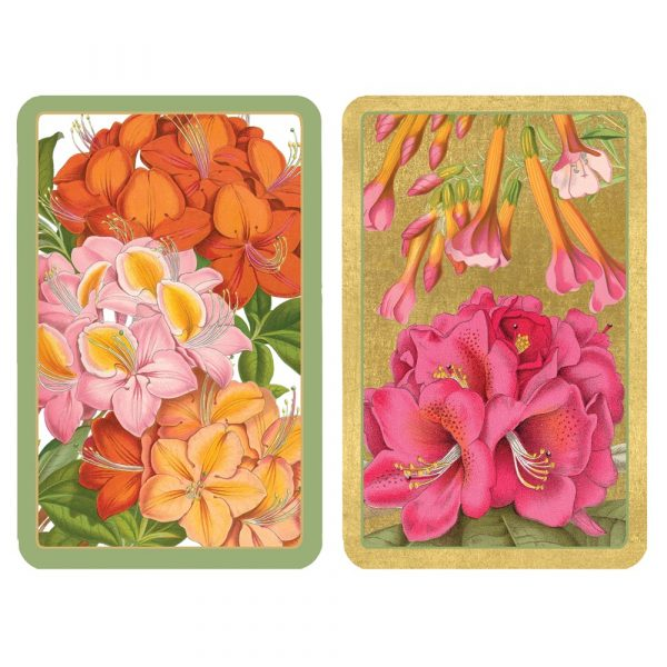 caspari jefferson's garden playing cards