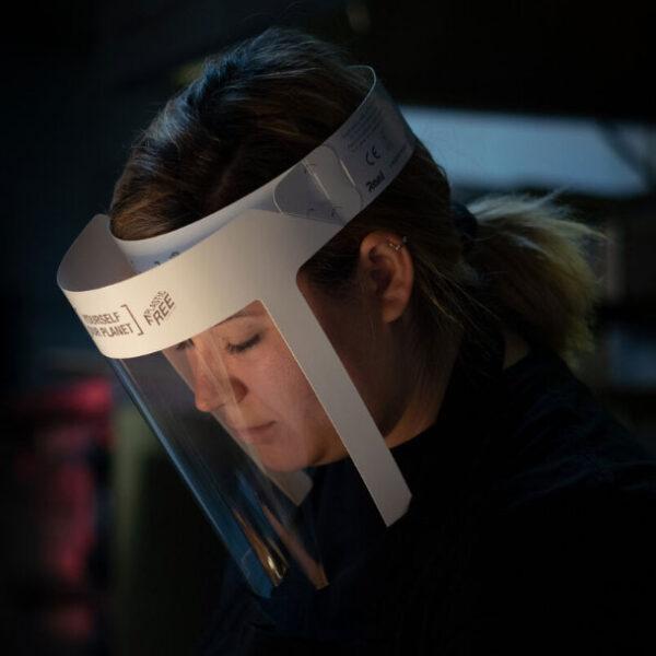 REELShield Flip Plastic Free visor