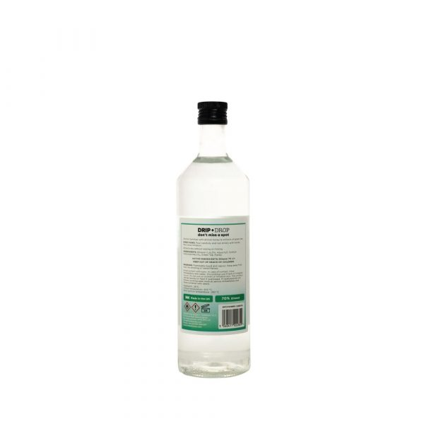 DRIP+DROP Sanitiser with British Honey & Extracts of Green Tea, 1L