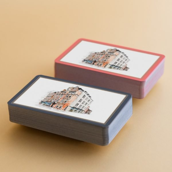 william and son bruton street playing cards