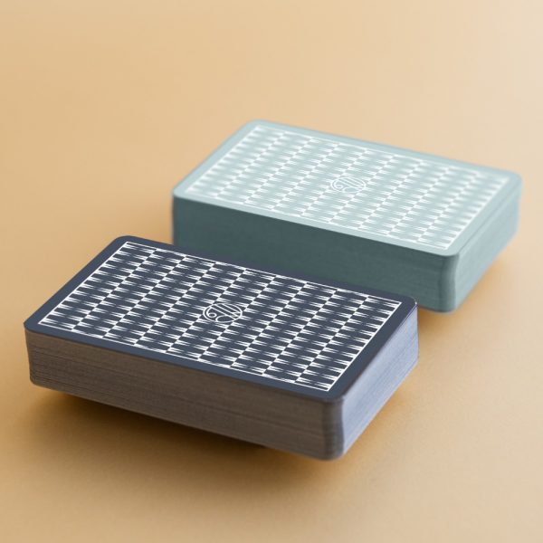 william and son single colour playing cards