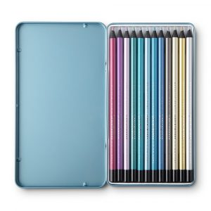 Metallic Colouring Pencils - Pack of 12