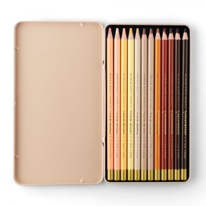 Skin Tone Colouring Pencils - Pack of 12