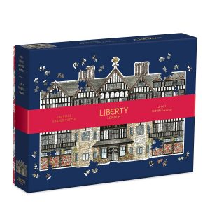 Liberty London Tudor Building 750 Piece Shaped Jigsaw Puzzle
