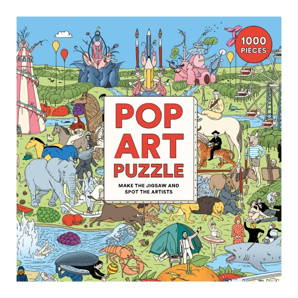 Pop Art Jigsaw Puzzle