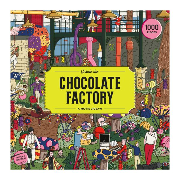 Inside the Chocolate Factory 1000 Piece Jigsaw Puzzle