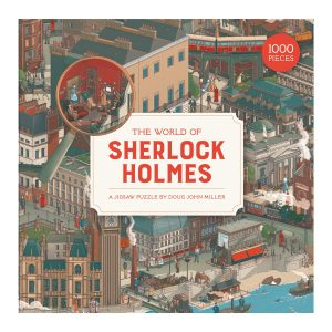 The World of Sherlock Holmes 1000 Piece Jigsaw Puzzle