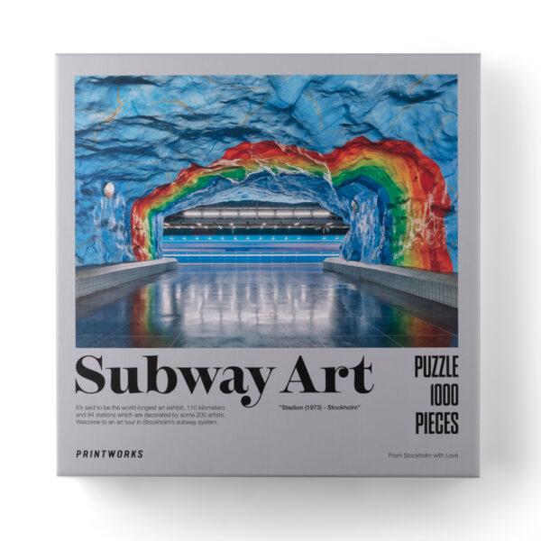 Subway Art: Rainbow, 1000 Piece Puzzle