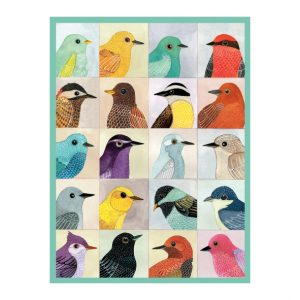 Gennine Zlatkis Avian Friends 1000 Piece Jigsaw Puzzle
