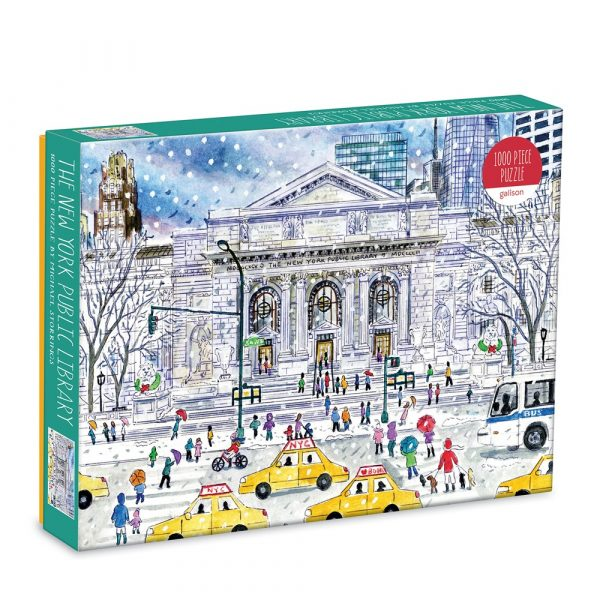 Micheal Storrings New York Public Library Jigsaw Puzzle