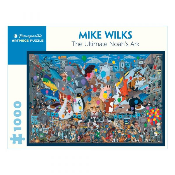 Mike Wilks: The Ultimate Noah's Ark, 1000 Piece Puzzle
