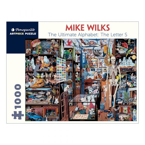 Mike Wilks: The Letter S, 1000 Piece Puzzle