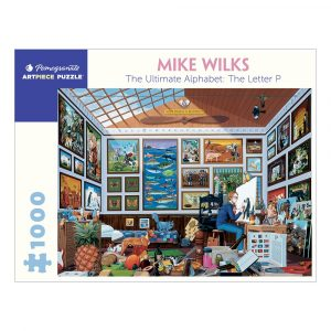 Mike Wilks: The Letter P, 1000 Piece Puzzle