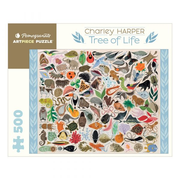 Charley Harper: Tree of Life, 500 Piece Puzzle