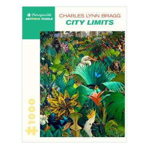 Charles Lynn Bragg: City Limits, 1000 Piece Puzzle