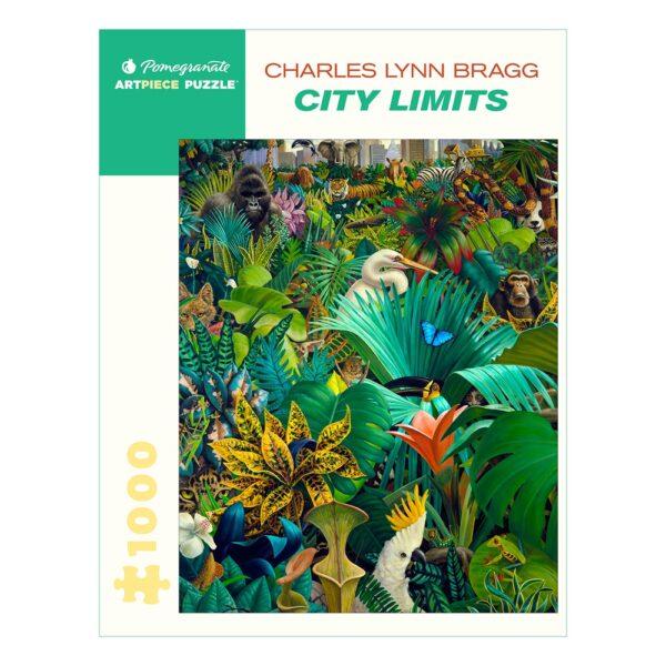 Charles Lynn Bragg: City Limits, 1000 Piece Puzzle