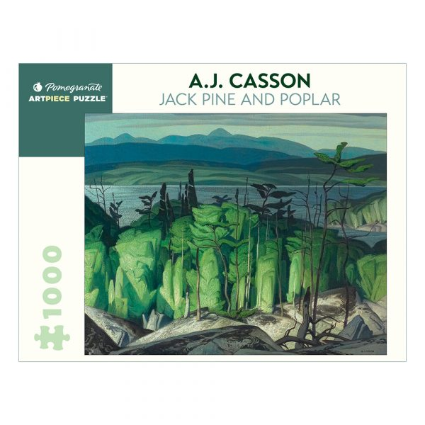 A. J. Casson: Jack Pine and Poplar, 1000 Piece Puzzle
