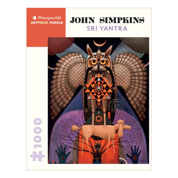 John Simpkins: Sri Yantra, 1000 Piece Puzzle