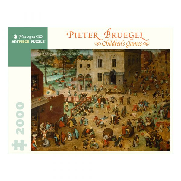 Pieter Bruegel Childrens Games Puzzle 2000 piece jigsaw
