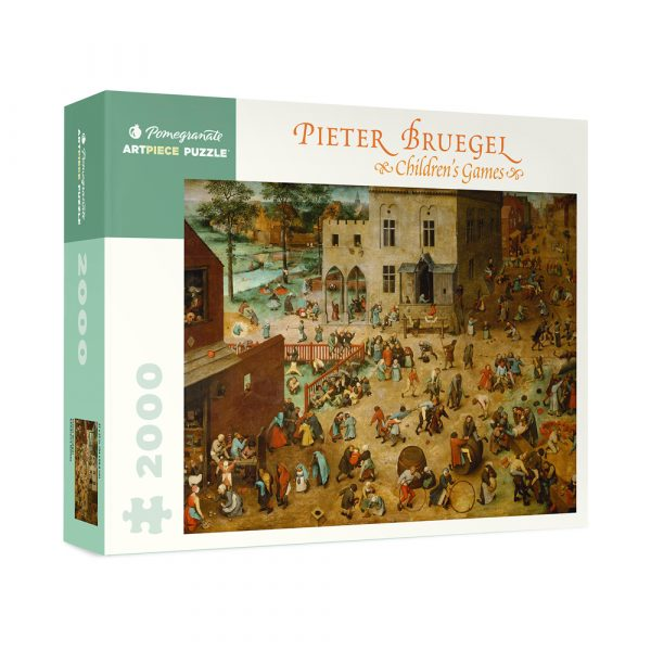 Pieter Bruegel Children's Games Puzzle 2000 piece jigsaw