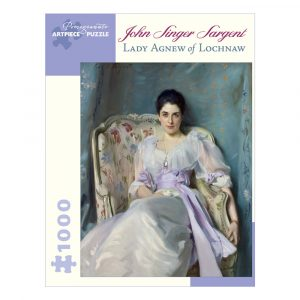 John Singer Sargent: Lady Agnew of Lochnaw, 1000 Piece Puzzle