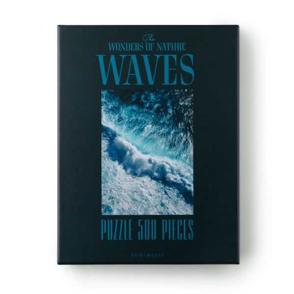 The Wonders of Nature: Waves, 500 Piece Puzzle