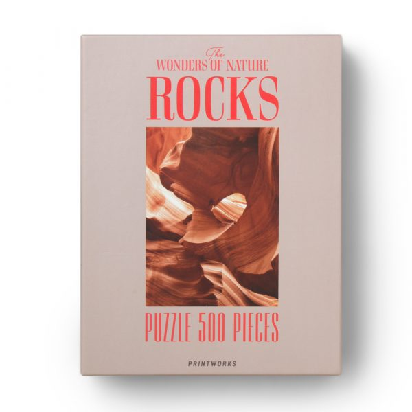 The Wonders of Nature: Rocks, 500 Piece Puzzle