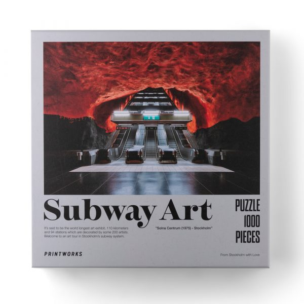 Subway Art: Fire, 1000 Piece Puzzle