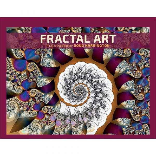 Fractal Art Colouring Book