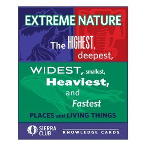 Extreme Nature Knowledge Cards