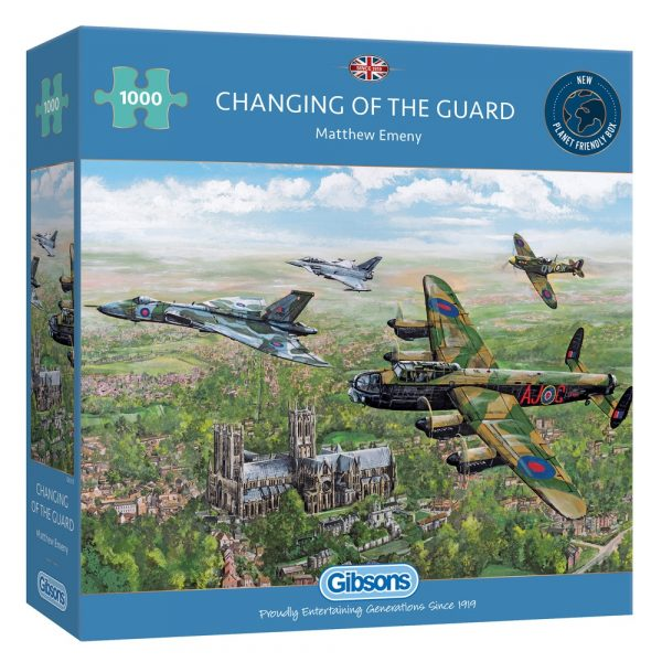 Matthew Emeny's Changing of the Guard 1000 piece jigsaw puzzle