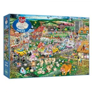 Mike Jupp's I Love Spring 1000 Piece Jigsaw Puzzle