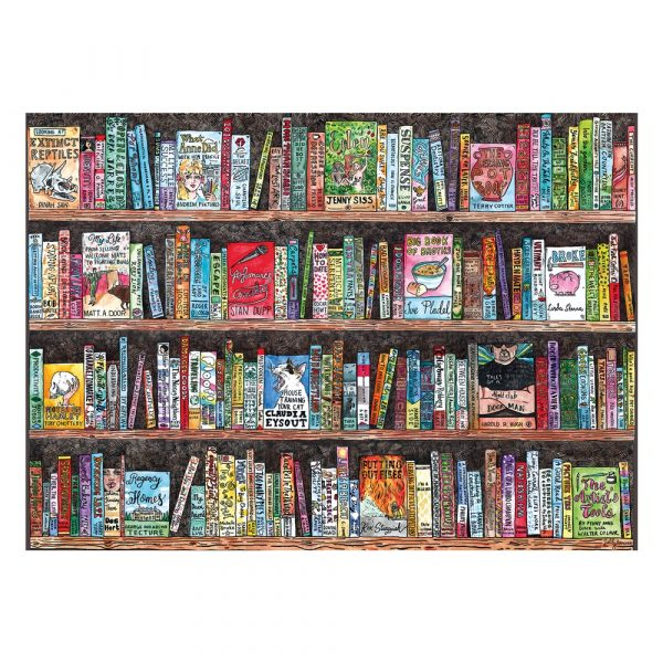 Authorful Puns Gibsons 1000 piece jigsaw puzzle