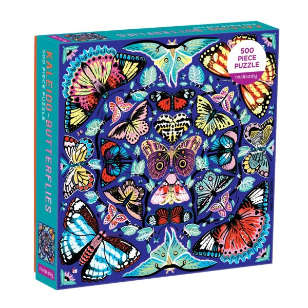Kaleido Butterflies 500 Piece Family Jigsaw Puzzle