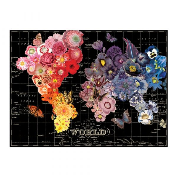 Wendy Gold Full Bloom 1000 Piece Jigsaw Puzzle