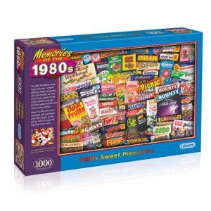 Robert Opie's 1980s Sweet Memories 1000 piece jigsaw puzzle