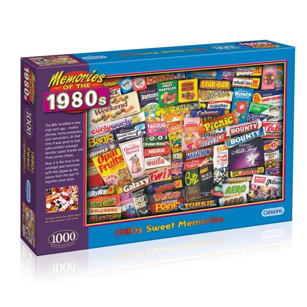 Robert Opie's 1980s Sweet Memories 1000 piece jigsaw puzzle