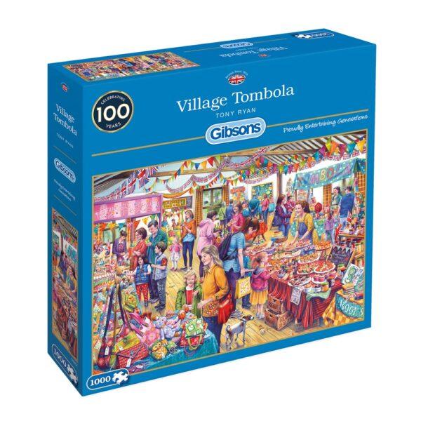 Village Tombola 1000 Piece Jigsaw Puzzle