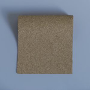 extra wide broadcloth bronze flat